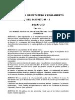 Estatutos y Reglamentos Proyecto 2015 - distrito H1