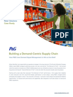 Retail Solutions Case Study - PG (DSM)