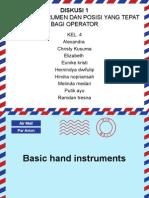 Basic Hand Instruments