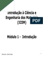 Introdução a Ciência e engenharia de materiais