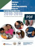 Plan de Accion Para La Reduccion de La Mm y Nn y Mejoramiento de La Salud Reproductiva