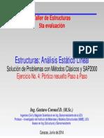 Ejercicio No 4. Pórtico resuelto con SAP2000.pdf