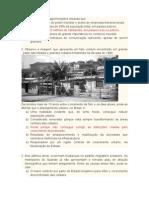 Lista de Questões Sobre Urbanização