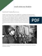 Jak Niemcy Budowali Stołeczny Kraków - Poznaj Polskę