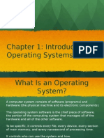 Lesson1-Introducing Operating Systems