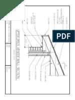 upper brick veneer wall section