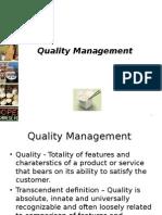 OM Ppt Quality Management