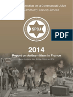 2014 Report on Antisemitism in France