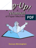 Pop-up - A Manual of Paper Mechanisms -Duncan Birmingham