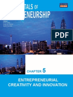 Chapter 5 Entrepreneurial Creativity and Innovation