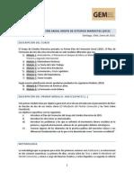 Plan de Formación Anual Grupo de Estudios Marxistas (2015) - Módulo 1