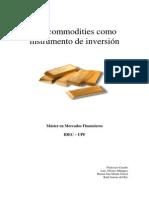 Las Commodities como instrumento de inversión