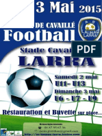 LAUNAC-LARRA Tournoi 2015 Inscription
