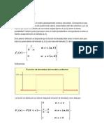 Distribucion Uniforme, Distribución Exponencial
