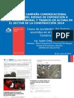 Presentacion Accidentabilidad Caida Altura Casos 2014