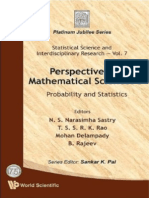 Perspectives in Mathematical Sciences I