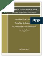 Portafolio de Evidencias Administración de Proyectos