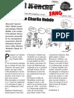 Tache 2 k'encre n°53, spécial Charlie Hebdo