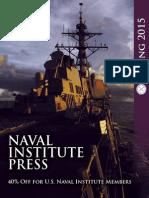 Naval Institute Press Spring 2015 Catalog