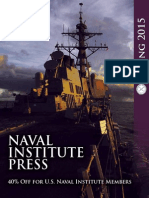 Naval Institute Press Spring 2015 Catalog