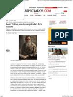 León Tolstoi, Con La Complicidad de La Muerte_ El Espectador