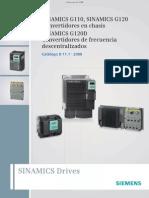 Brochure SinamicsG120