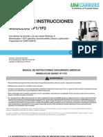 1F1 1F2 Operators Manual SP
