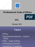 Code of Ethics by Russel de Zilwa