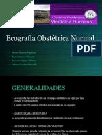 Ecografía Obstétrica Normal
