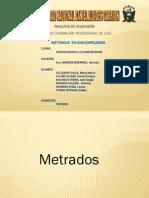 Expo Metrados__INTRODUCCION A LAS CONSTRUCCIONES