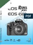 Canon EOS xsi EOS 450d Manual