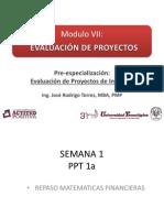 Evaluacion de Proyectos - Ppt 1