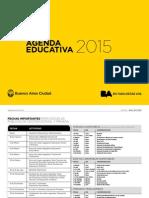 Agenda educativa 2015 Ciudad de Buenos Aires