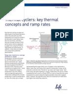 Thermal Cycler Ramp Rates