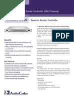 Mediant 9000 SBC Datasheet