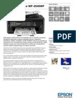 Epson WorkForce WF 2540WF Ficha Técnica