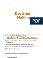 @Decision Making