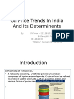 Oil Price Trends In India And Its Determinents.pptx