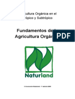Fundamentos de La Agricultura Organica