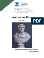 Antoninus Pantoninus piusius