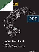 Enerpac S-Series Manual