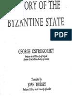 George Ostrogorsky, History of the Byzantine State