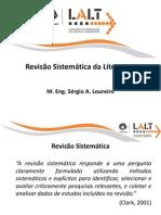 Revisao Sistematica Da Literatura 1
