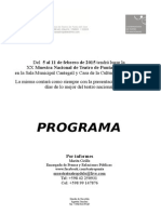 Gacetilla Muestra Nacional de Teatro P Del Este 2015