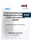 The Effect of High-temperature Exposure on the Interfacial Microstructure of Co-based Coatings (1)