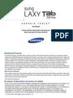 Gt-p6210 Mr-2 English User Manual Lpc f1 Tablet Vane