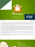 Zendesk Presentation - Nov 2014