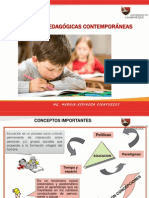 corrientes Pedagogicas Cintemporaneas