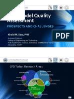 CFD Model Quality Assessment