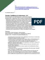 Zucker Goldberg Ackerman LLC and 4 S Technologies, LLC and ZGA LLC